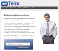 myTelco Webseite