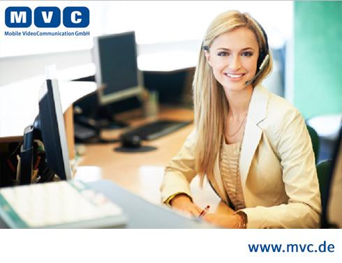 MVC Videokonferenzen mit Operatorbetreuung
