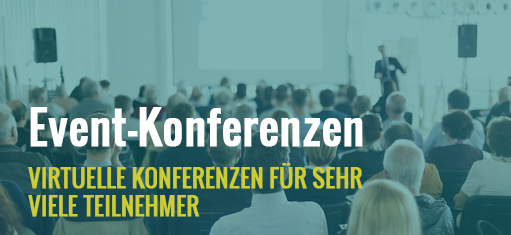 Event-Konferenz (virtuelle Event-Konferenz)
