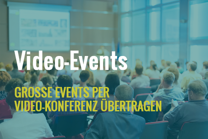 Video-Event Video-Konferenz
