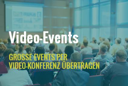 Video-Event Video-Konferenz
