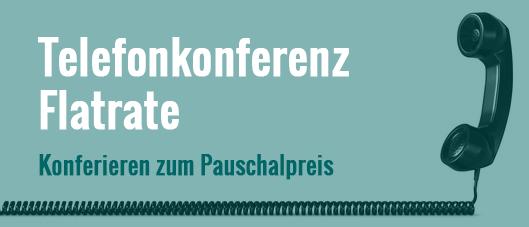 Telefonkonferenz-Flatrate: die Telefonkonferenz zum Festpreis